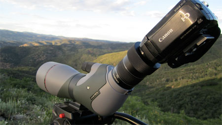 Digiscoping u using a spotting scope or binoculars for photography