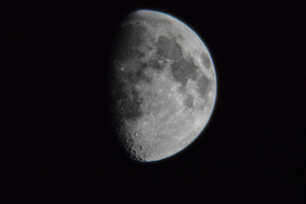 The Moon, Avalon 60mm Venture HD Spotting Scope